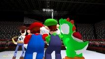 Gmod Sandbox Funny Moments - Banana Bus Dance, Boxing Arena, Yoshi