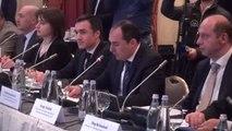 """Yıldırım: """"Bakü-Tiflis-Kars Demiryolu Projesi, Uzak Doğu ile Avrupa Arasında Kesintisiz Hat..."""
