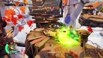 Lets Play Skylanders SuperChargers Part 23: Barrel Blaster VS. Capn Cluck | Der kolossale Kern!