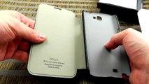 Обзор: Элитный кожаный чехол книжка HOCO для Samsung Galaxy Note 2 N7100