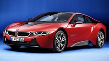 "A Special Edition ""Protonic Red"" BMW i8 Will be Unveiled in Geneva"