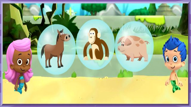 Bubble Guppies Lonely Rhino Friend Finders Game for Kids Cute Video