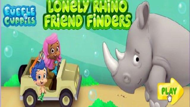 Bubble Guppies - Lonely Rhino Friend Friends - Bubble Guppies Games