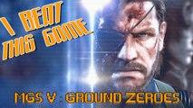 I Beat This Game - MGS V Ground Zeroes par Achebé