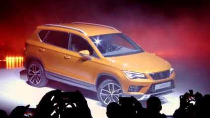 Seat Ateca SUV | Sneak Preview | Full HD Footage | ATMO | Februar 2016