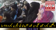 How Cameraman is Shooting Wife of Shahid Afridi Nadia Afridi Continuously  PNPNews.net