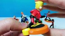 7 Disney Pixar Les Indestructibles Figurine Set Review M. Incroyable Elastigirl Syndrome De