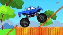 Monster Trucks | Police Monster Truck | Police Monster Truck Stunts