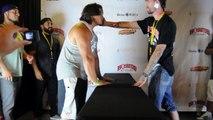Mis KO en une claque pendant un championnat de baffes aux USA