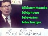Cours vidéo gratuit de français : Les préfixes en 50 exemples