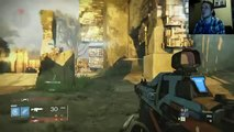 Destiny CruciChallenge #1 Blyy Auto Rifle & Throwing Knives Rumble