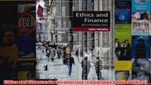 Download PDF  Ethics and Finance An Introduction Cambridge Applied Ethics FULL FREE