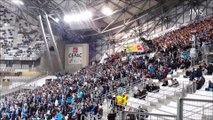 Arrivée du PSG (serge aurier david luiz laurent blanc..) sur la pelouse de l'OM-2016(2016 : Arrival of PSG (Serge Aurier david luiz laurent white ....) on the OM of lawn)-Marseille