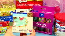 Cupcake Maker Cakes Chocolate & Candy Sprinkles Baking Toy Review by DisneyCarToys