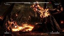 Skeleton Gamer vs zombie Gamer mortal kombat X