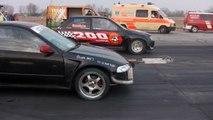 Honda Civic Turbo Vs. Ford Fiesta RS Turbo
