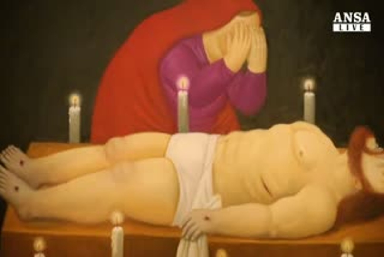 Mostre: Pagana e sociale la Via Crucis di Botero