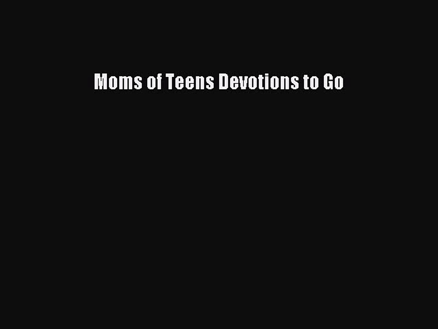 Devotions for special needs moms - The Measured Mom