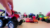 Monster Truck Machines HD toys and hot wheels trucks машинки монстр трак игрушки биг фут