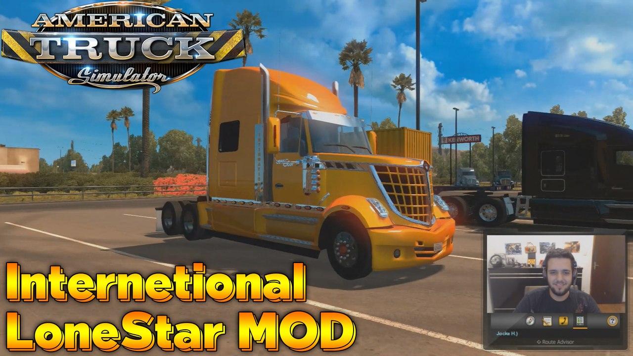 International LoneStar MOD - American Truck Simulator (ATS)