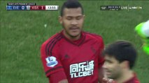 Rondon S. Goal HD - Everton 0-1 West Brom - 13-02-2016