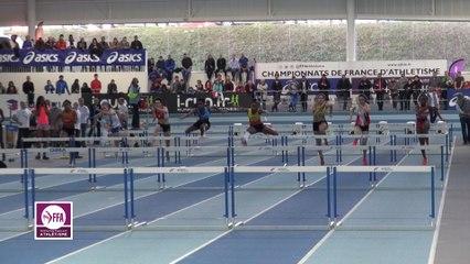 Finale 60 m haies Cadettes