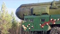 Запуск МБР «Тополь» с космодрома Плесецк / Launch of ICBM Topol from Plesetsk Cosmodrome