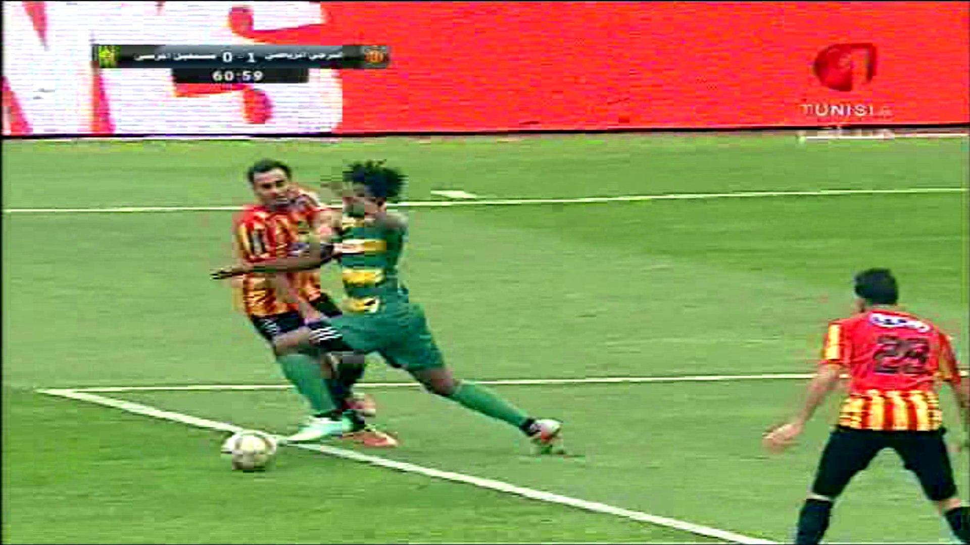 [Ligue1, J16] EST vs ASM - Penalty Non Sifflé sur Idriss Mhirsi (60') 13-02-2016
