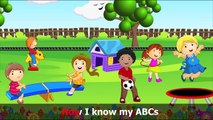 ABC Alphabet Song in HD with Lyrics - Childrens Nursery Rhymes by eFlashApps
