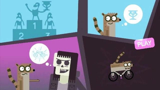 Regular Show Game RIGBMX Cartoon Network