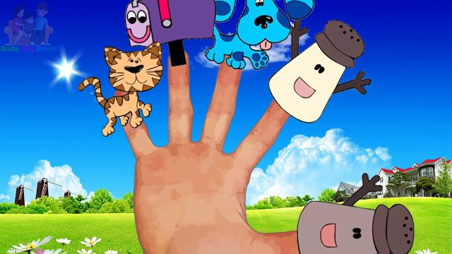 Blues Clues Finger Family || Nursery Rhymes || From Doremi Songs Official