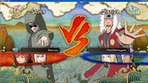PC Naruto Ultimate Ninja Storm Online Match #1 Ragequit LOL 1080p Beautiful PC Graphics