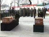 Army pays tribute to jawans martyred in Kupwara encounter