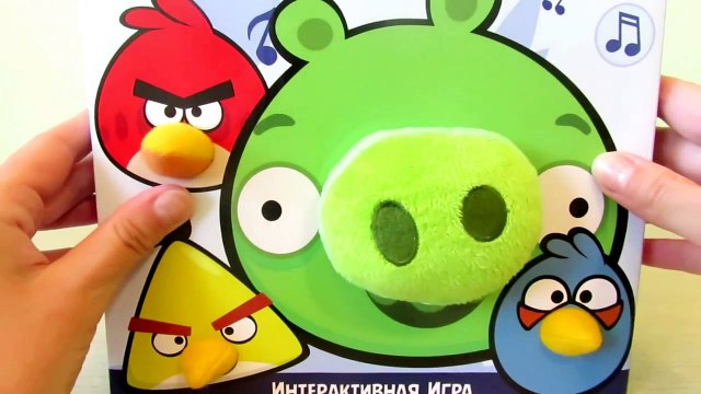 Angry Birds HD Cartoon Angry Birds Game Angry Birds awesome toys and green pig PlayClayTV