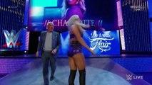 WWE RAW-Brie Bella vs Charlotte
