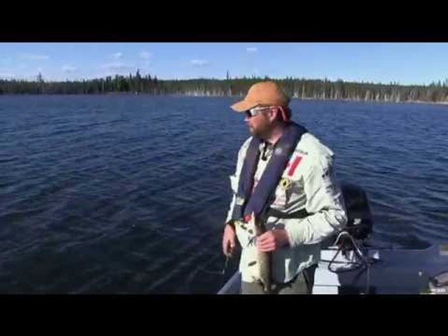 Fishing for Northern Pike in the Northwest Territories