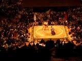 Combat de sumos au Japon