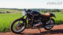 Motor Cafe Racer Custom Bike - Motos Custom Bobtail Tuning 1