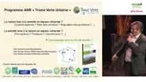 Passage de l'écologie scientifique à l'opérationnel. Philippe Clergeau, professeur d'écologie, MNHN.