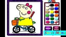 Мультик PIG PEPPA СВИНКА ПЕППА Раскраска для детей. Свинка Пеппа на русском