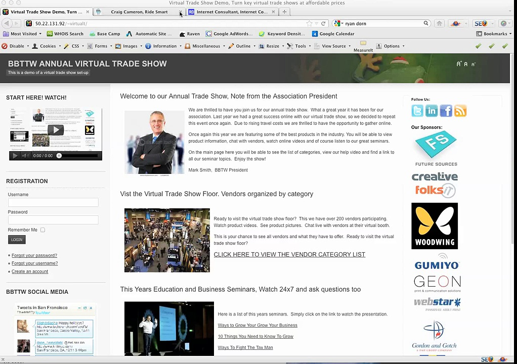 Virtual Trade Show Demo – Trade Show Media Partners
