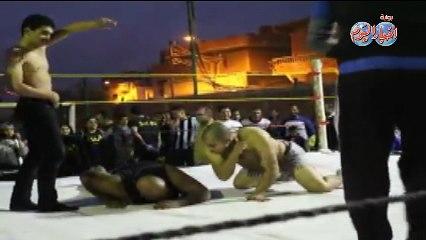 أول عرض لمصارعة المحترفين المصرية