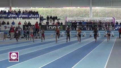 Finale 60 m Juniors Filles