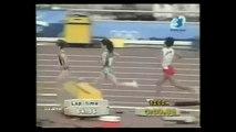 Medaille d'or de Hassiba Boulmerka du 1500m au Jeux Olympique BARCELONE 1992