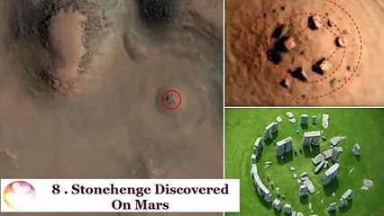 Top 10 Mysteries Of Mars Unexplained By Nasa