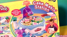 Play Doh Cake Makin Station Bakery Playset by Sweet Shoppe - Confeitaria Fábrica de Bolo
