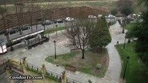 Granizada en Candás, Asturias 14 Febrero 2016