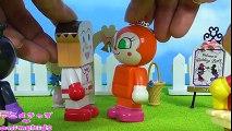 アンパンマン おもちゃ アニメ ドキンちゃん しょくぱんマン 結婚⁉❤ animekids アニメきっず animation Anpanman Toy Wedding