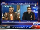 Aaj Rana Mubashir Kay Sath - 14th February 2016