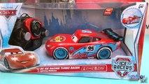 Disney Pixar Cars Flash McQueen Ice Racers turbo radiocommandé en français 4k Lightning McQueen